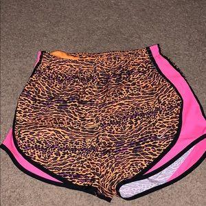 Cheetah Print Nike Tempo Running Shorts